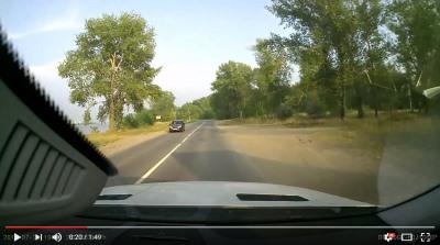 дорога на волжанку - видео